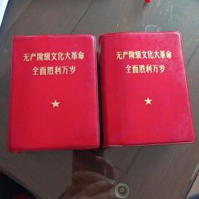 无产阶级文化大革命全面胜利万岁上下两册