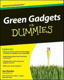 Green Gadgets For Dummies[绿色小工具傻瓜书]