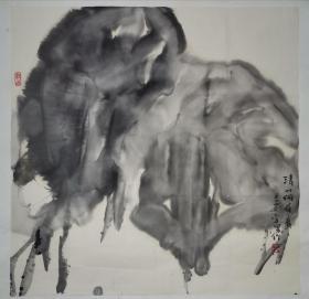 乔宜男作品,1968年生于西安,1990年毕业于西安美术学院国画系,1993年毕业于西安美术学院研究生部,获艺术学硕士学位。 现为中国国家画院画家、中国美术家协会会员、中国工笔画协会会员、陕西省青联委员、西安青年美术家协会主席、西安美术学院教授。主要作品入选第八届、第九届、第十届全国美展