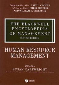 预订The Blackwell Encyclopedia Of Management - Human Resource Management V 5 2E