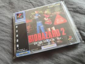 PS1&PSone游戏机游戏生化危机2中文版光盘碟