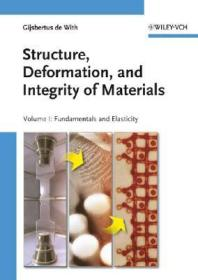 Structure,Deformation,andIntegrityofMaterials(v.1&2)