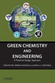 预订Green Chemistry And Engineering: A Practical Design Approach