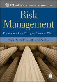 预订Risk Management: Foundations For A Changing Financial World
