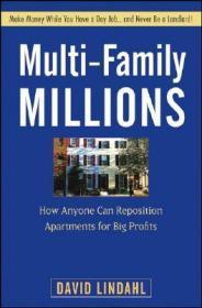 预订Multi-Family Millions: How Anyone Can Reposition Apartments For Big Profits