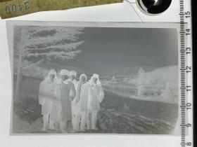 3400 年代老照片底片  摄影家作品 雪村