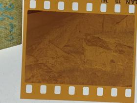 3472 年代老照片底片  长城