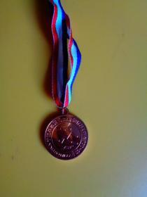 宁波中学第五十四届田径运动会奖牌(2001.10)【第3名】【直径4厘米】【稀缺品】