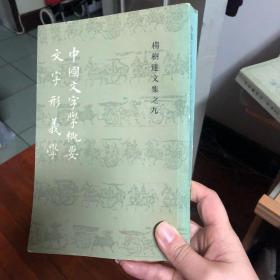 中国文字学概要:文字形义学