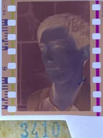 3410 年代老照片底片  男演员