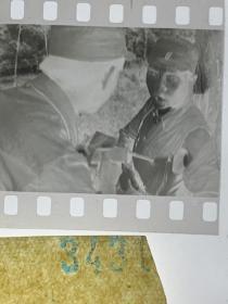 3431 年代老照片底片  长影演员