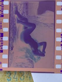 3434 年代老照片底片  裸女 艺术