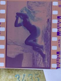 3435 年代老照片底片  裸女 艺术