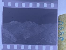 3440 年代老照片底片  长城