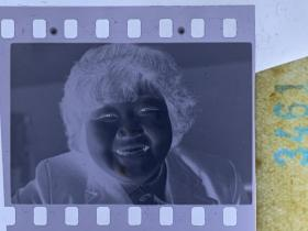 3461 年代老照片底片  长春长影女演员