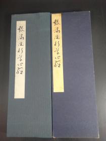 张瑞园行草心经  (西东书房1972年版·经折装·1函1册全)【R0411】