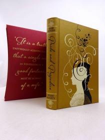 预售傲慢与偏见folio豪华版 Pride and Prejudice folio deluxe