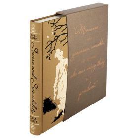 预售理智与情感folio豪华版Sense and Sensibility folio deluxe