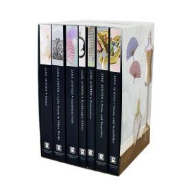 预售简奥斯丁七本英版平装全集盒装The Complete Jane Austen Collection