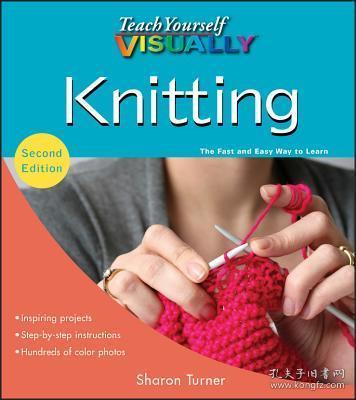 预订Teach Yourself Visually Knitting, 2Nd Edition