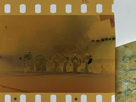 3413 年代老照片底片  日本舞蹈