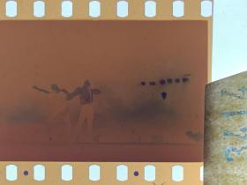 3414 年代老照片底片  舞蹈