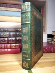 Easton Press 大本真皮精装收藏版 亚里士多德 政治学  诗学  Politics & Poetics (100 Greatest Books Ever Written) 竹节书脊,三面刷金