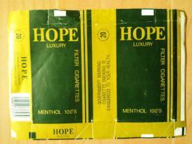 烟标---外文软盒烟标