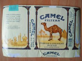烟标---外文软盒烟标(骆驼)