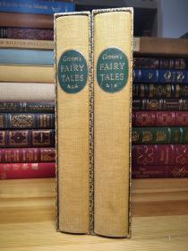 Heritage Press  布面精装大本格林童话 两卷全 Lucille Corcos 精美插图 Grimm's Fairy Tales   3公斤