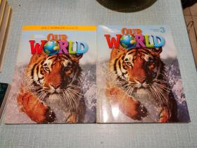 OURWRLD3/每本附光盘一张/2本合售