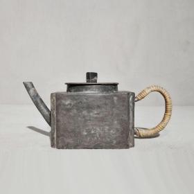 2279清代造型精美锡酒壶锡茶壶
