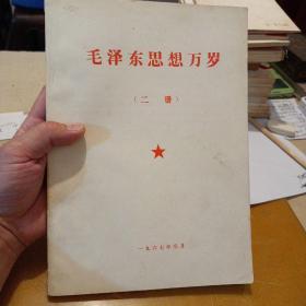 毛泽东思想万岁     (二册)