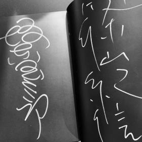 坂东玉三郎 筱山纪信 双签名! 8开写真集 歌舞伎人间国宝 日本戏剧艺术与人像摄影的对碰