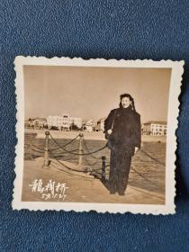 1959年青岛栈桥知性美女