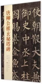 唐柳公权玄秘塔碑/中国历代经典碑帖--正版全新