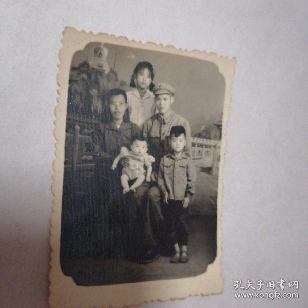 六十年代黑白照片