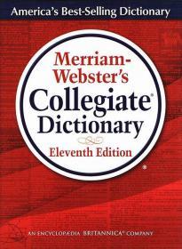 韦氏大学英语词典字典 英文原版 Merriam-Webster's Collegiate D