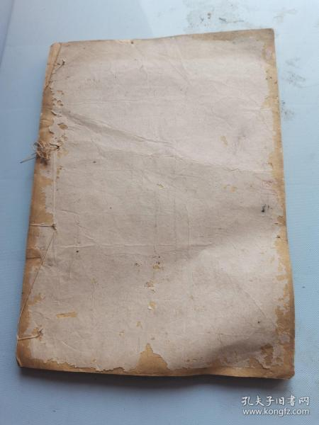 故纸,纸文化,花笺纸文化:清代大开本信笺纸10栏一厚册,江西老字号起凤楼纸号老纸,纸质上佳。
