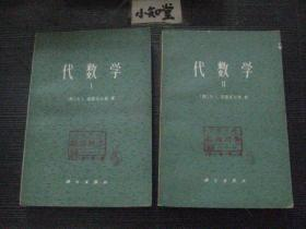 代数学Ⅰ II 科学出版社【2本合售】