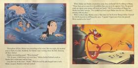 花木兰 英文原版 儿童有声故事书 含CD 迪士尼Disney 平装 Disney