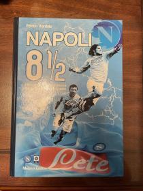 那不勒斯大开本官方历史画册足球特刊俱乐部画册带DVD包邮
