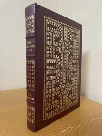 lady chatterleys lover《查泰莱夫人的情人》 Lawrence 劳伦斯经典小说 easton press 1988年出版 真皮精装 品好近全新