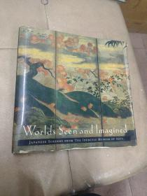 《Worlds Seen and Imagined: Japanese Screens from the Idemitsu Museum of Arts》精装