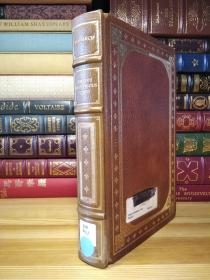 Franklin Library 限量版   希腊罗马十二名人传 Twelve Illustrious Lives (The 100 Greatest Books of All Time) 竹节书脊 三面刷金