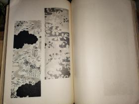 昭和十三年初版本:六人の村 夏向着尺图案  【内田美术书肆出版】70叶 140面  补图