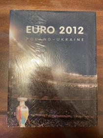 2012欧洲杯足球官方画册 osb原版欧洲杯画册 赛后特刊 4国语言 全新包邮