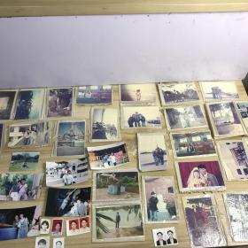 美女及其家属生活照彩色老照片114张 及多组底片 21021811