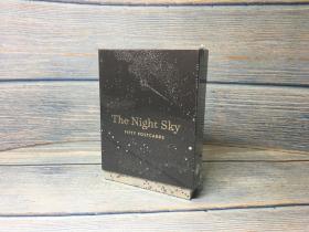 夜空档案NASA明信片50片合集The Night Sky: Fifty Postcards (50 designs; archival images, NASA ephemera, photographs, and more in a gold foil stamped keepsake box;)