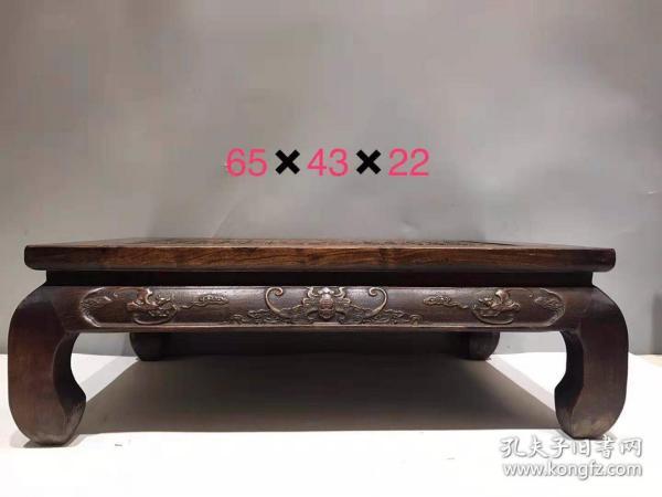 花梨木百福桌,手工雕刻,保存完好,品相完好,